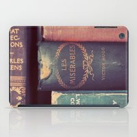 reading iPad Cases featuring Sunday Reading by elle moss