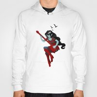 marceline Hoodies featuring Marceline, Vampire Queen by Following Fishies