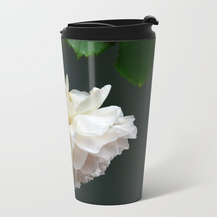 Romantic roses Metal Travel Mug