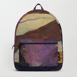 Paul Gauguin- The Spirit of the Dead Keep Watch Backpack