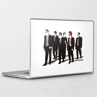 reservoir dogs Laptop & iPad Skins featuring Reservoir Ronald by Stewart S