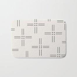 Worn Dots + Lines Bath Mat