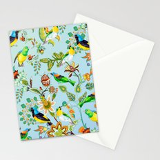 Colourful Birds Chintz Multicolour Stationery Cards