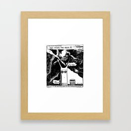 They Mined for Gold / 2016: The Booth Philosopher Series Framed Art Print