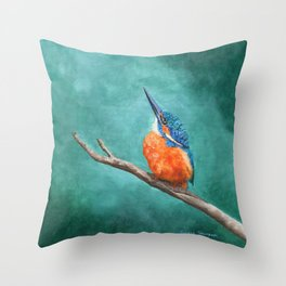 A Watchful Eye by Teresa Thompson Throw Pillow