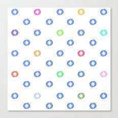 Watery Specks Canvas Print