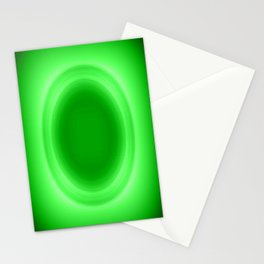 Neon Green Glow Stationery Cards