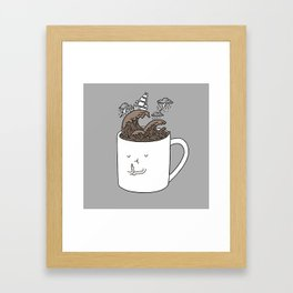 Brainstorming Coffee Mug Framed Art Print