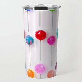 Lollipop Rainbow Travel Mug