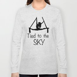 "Aeiralist ""Tied to the Sky"" Graphic Long Sleeve T-shirt"