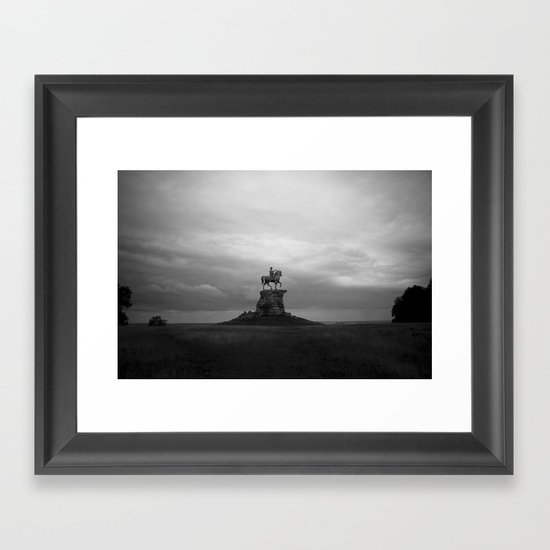 Watching out Framed Art Print