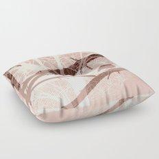 Bird tree Floor Pillow