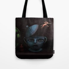 Unlikely Escape. Tote Bag