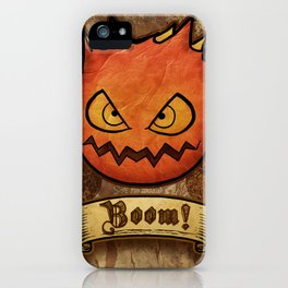 boom ! bomb iPhone Case