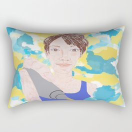 God Created you to be Amazing Rectangular Pillow