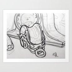Pulley Art Print