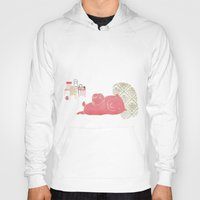 pig Hoodies featuring Pig by yael frankel