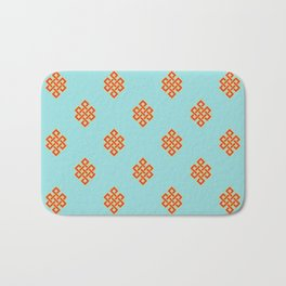 Eternity knot pattern Bath Mat