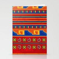 mexico Stationery Cards featuring Mexico by rusanovska