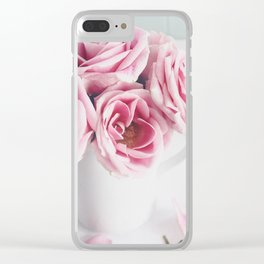 Sunday Rose Clear iPhone Case