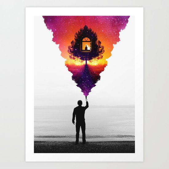 Find Your Light Art Print