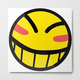 Cowboy Bebop - Hacker Smile Metal Print