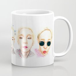 souththth - selfies Coffee Mug