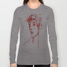 inspired in Egon Schiele 02 Long Sleeve T-shirt