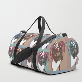 My Sad Boxer Dog Duffle Bag