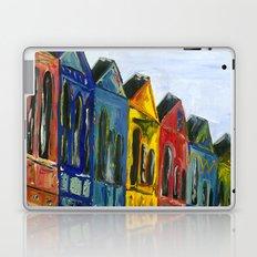 Rainbow Row Laptop & iPad Skin