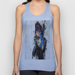 Facial Expression Unisex Tank Top