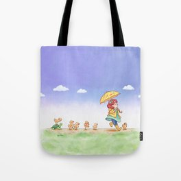 Duckling March Tote Bag