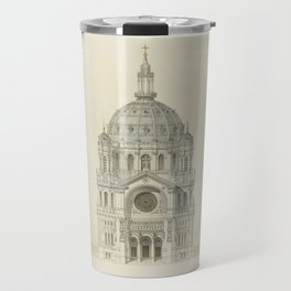 Church of St. Augustine Paris Travel Mug