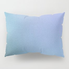 Minimalist Pattern in Iridescent Blue 32 Pillow Sham