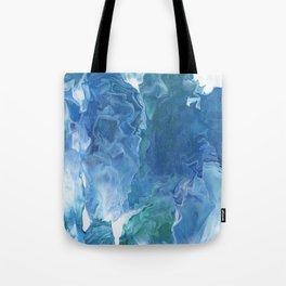 Blue Thunder by Julia Duerler Tote Bag