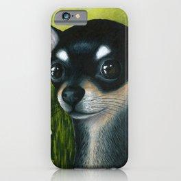 Black Chihuahua Dog iPhone Case