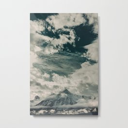 Cloud Mountain in the Canadian Wilderness Metal Print