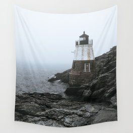 Castle Hill Lighthouse, Rhode Island Wall Tapestry
