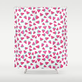 Watermelon Slices Shower Curtain