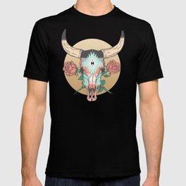 cráneo de vaca T-shirt