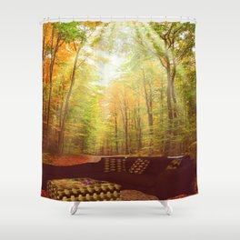 home body Shower Curtain