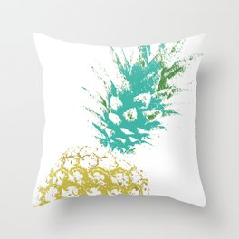 Pinnaple delight Throw Pillow