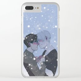 Victuuri Clear iPhone Case