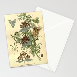 Spanish Fennel Flower Stationery Cards