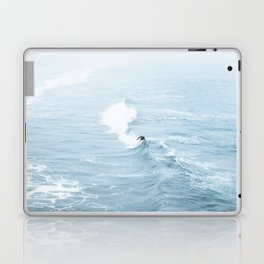 Blue Waves Surfer Laptop & iPad Skin