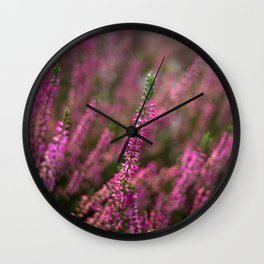 autumn flowers Wall Clock