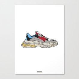 Triple S Canvas Print