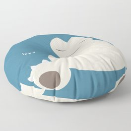 Snorlax Floor Pillow