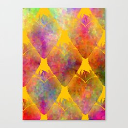 Berry Hearts Canvas Print