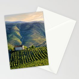 chapel in the Douro Valley, evening light Stationery Cards